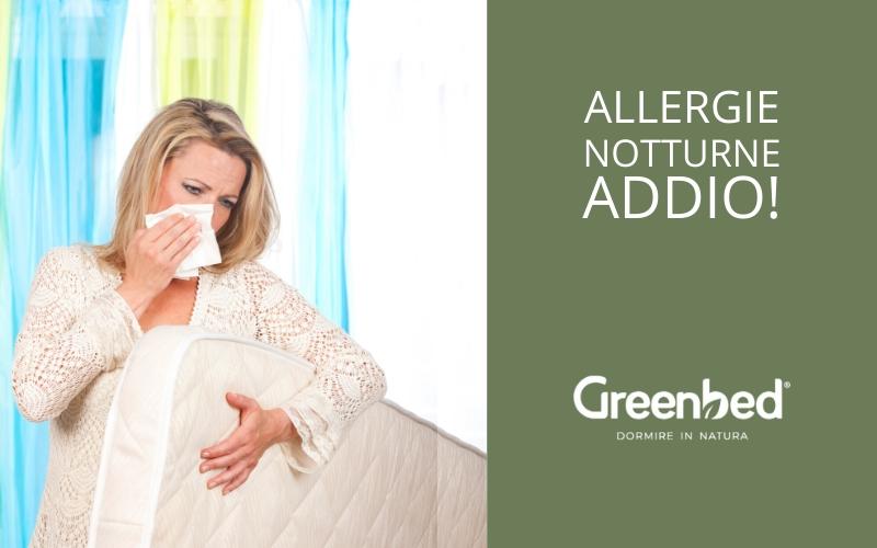 Materassi Anallergici.Stop Alle Allergie Notturne Con I Materassi Anallergici Greenbed
